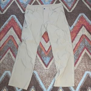Mens Patagonia pants light brown/khaki
